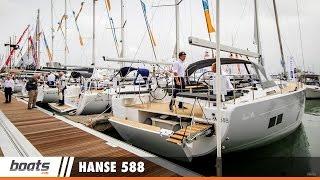 Hanse 588: First Look Video