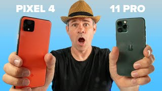 Pixel 4 vs iPhone 11 Pro Review. Photographer compares, tests cameras