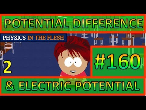 160 Potential Difference & Electric Potential 2
