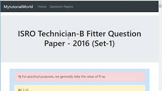 How to Download Previous Year Question Papers
