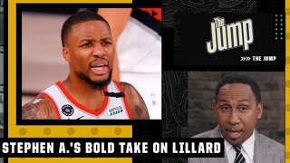 If Damian Lillard left the Blazers he would want to go to the Knicks - Stephen A.   The Jump