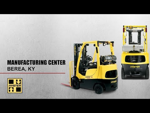 Inside Hyster Manufacturing Center In Berea, KY