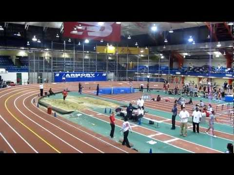 Saint Peters College 500m record 1:03.64 at NY Armory