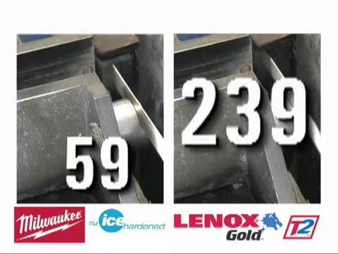 Slingshot Tools shares the 618G Lenox reciprocating saw blade - Metal cutting comparison