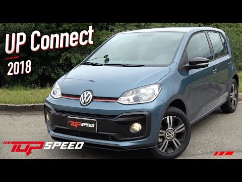 Avaliação Volkswagen UP TSI Connect 2018  | Canal Top Speed