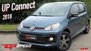 Avaliação Volkswagen UP TSI Connect 2018    Canal Top Speed
