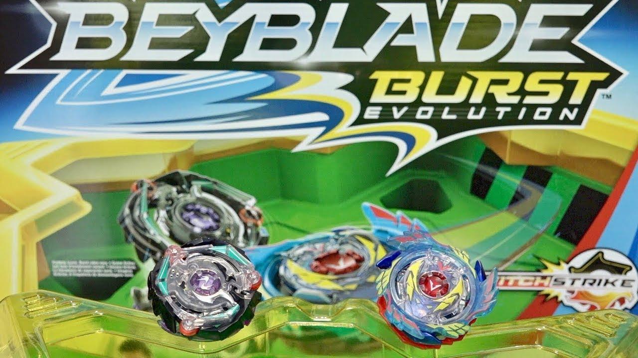 Beyblade Burst Evolution Switch Strike Stadium Unboxing