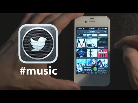 Twitter Music  App Review