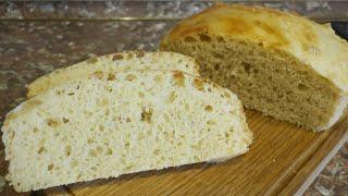 Хлеб пшеничный домашний формовой Чистые руки Все замесы проводятся ложкой Руки останутся чистыми