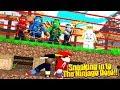 Minecraft Adventure - SNEAKING INTO THE LEGO NINJAGO DOJO CHALLENGE!