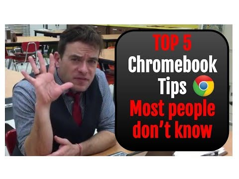 Top 5 Chromebook Tips Most People Don't Know
