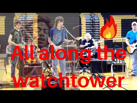 All Along The Watchtower Sidney Mays and friends Jimi Hendrix