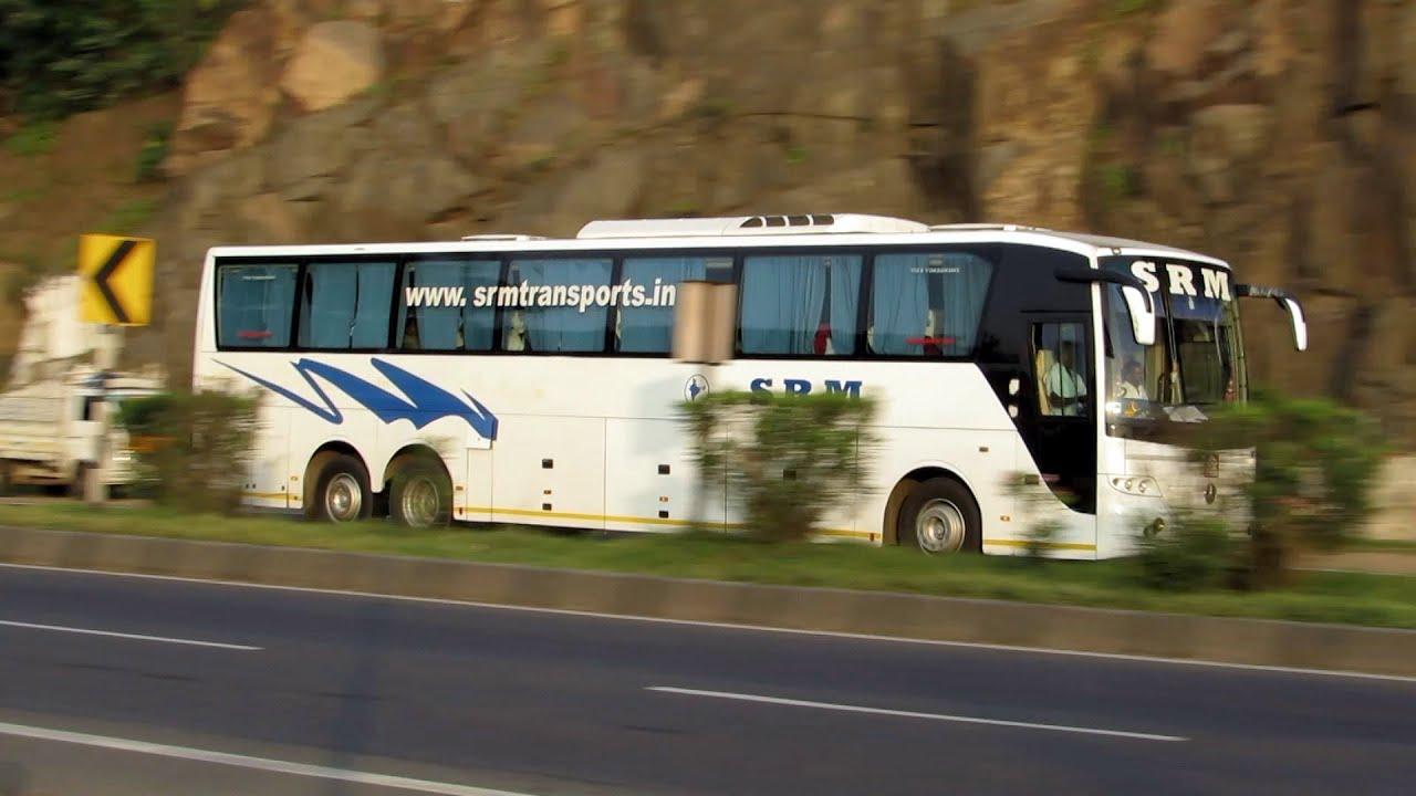 SRM Mercedes Benz Multi Axle Bus