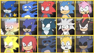 Sonic The Hedgehog Movie - Uh Meow All Designs Compilation [Sonic Cartoon]