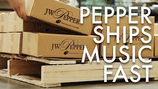 J.W. Pepper - Sheet Music to Your Door...Fast