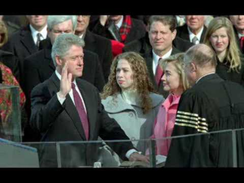 Bill clinton takes the oath of office youtube - When did clinton take office ...