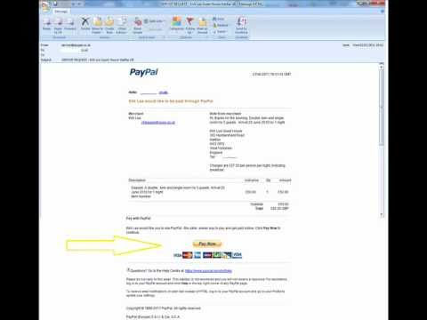 how to make a paypal payment without a paypal account youtube