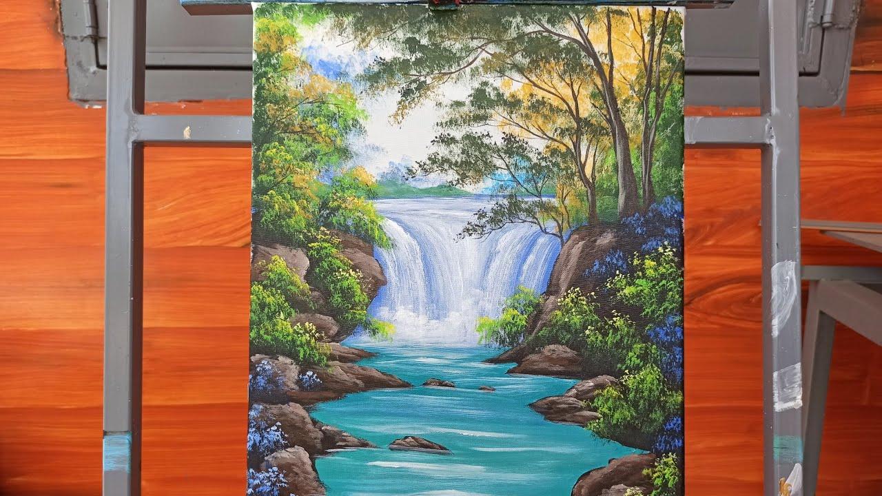(₫23) | art drawing | hướng dẫn vẽ thác nước | drawing guide | learn to draw | Tổng quát những tài liệu về vẽ thác nước đơn giản chính xác nhất