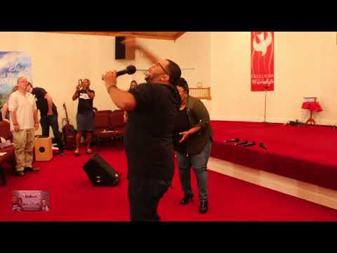 Kenny Hampton &  Co  Worship Without Walls 2017 #Experience7 Medley