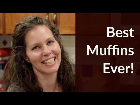 Gluten Free Cranberry Orange Muffins & DIY Powdered Sugar Tutorial