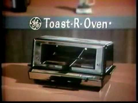 VINTAGE 1966 GENERAL ELECTRIC TOASTER OVEN MERCIAL TOAST R