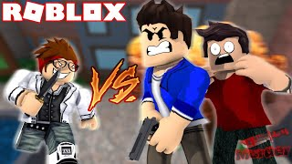 I SHOT THE KILLER BEFORE HE KILLED ME IN ROBLOX!!!