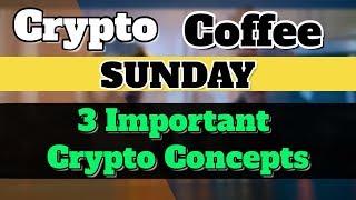 क्या आप जानते हैं यह 3 बातें  CryptoCurrency ke baare mein ? Crypto Coffee Sunday !!!