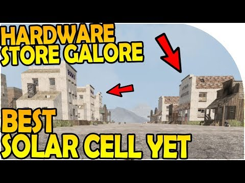 HARDWARE STORE GALORE - BEST SOLAR CELL - 7 Days to Die Alpha 16 Gameplay Part 39 (S2)