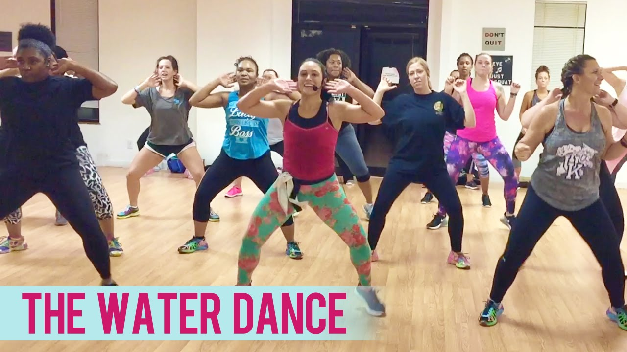 Chris Porter Ft Pitbull The Water Dance Dance Fitness With Jessica Dance Workout Videos Zumba Videos Dance Workout