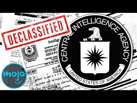 Top 5 CIA Secrets That Were Declassified