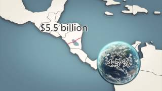 Chinese company to build a $40 billion Nicaraguan canal