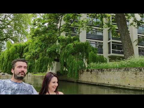 LONDON TOUR ~ LET'S GO PUNTING IN CAMBRIDGE CITY ENGLAND