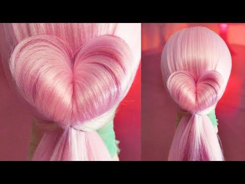 Оформление хвоста - Сердце - Hairstyles by REM