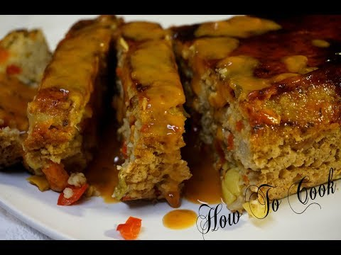 The Worlds BEST Vegan Vegetarian meatless (MEAT LOAF)How to cook