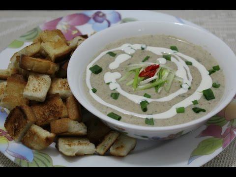 cream-of-mushroom-soup||how-to-make-mushroom-soup-||-soup-series