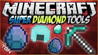 Minecraft 1.7.10 | Super Diamond Tools MOD | [ Ultra herramientas y armadura de diamante! ]