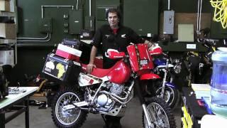 Motousa 2009 Honda Xr650l Adventure Bike Project