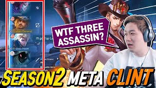 I tried to play Clint and.. Very Intense Game With three Assassins