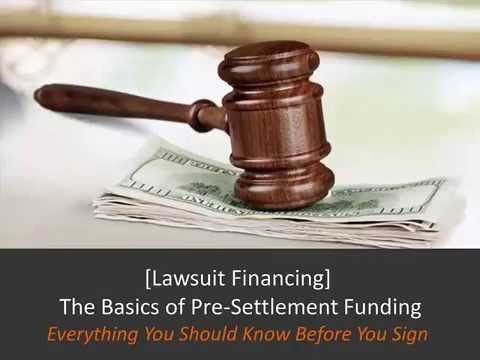 Pre-Settlement Financing [Everything You NEED To Know]