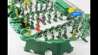 Домашні битви іграшок ↑ Військові солдатики, фортеця, нерфы ↑ Огляд іграшок
