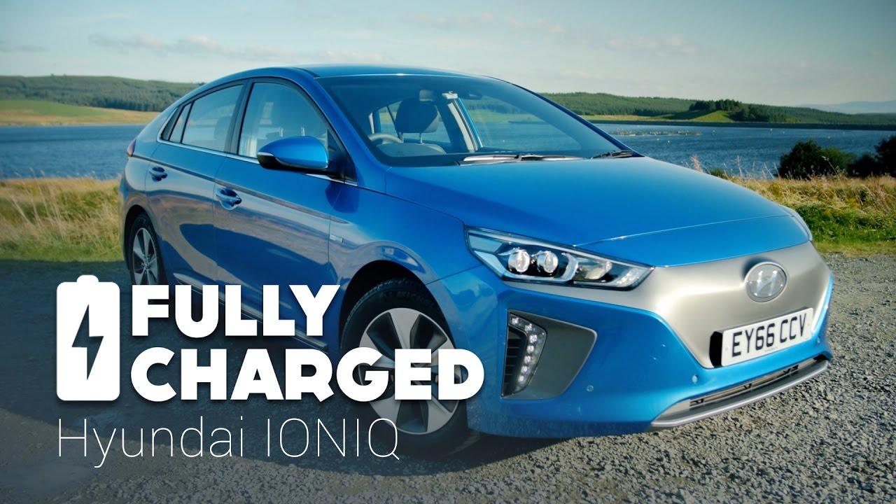 Hyundai Ioniq Electric Fully Charged Youtube