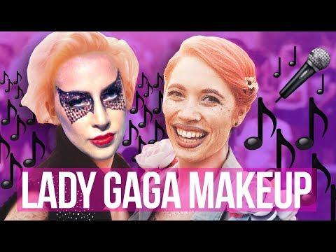 I'M GOING TO A LADY GAGA CONCERT! Lady Gaga Makeup Tutorial // Makeup Your Mood | HISSYFIT