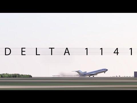 Delta 1141 / Air Crash Animation