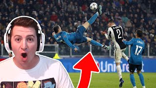 HOW DID HE SCORE THAT!? Rex Reacts to the Top Soccer Goals of 2020!