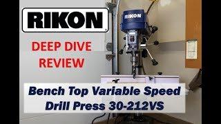 Rikon VS Drill Press Review