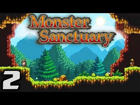 MONSTER SANCTUARY - Monster Collecting u0026 Training - Let's Play Monster Sanctuary Gameplay Part 2