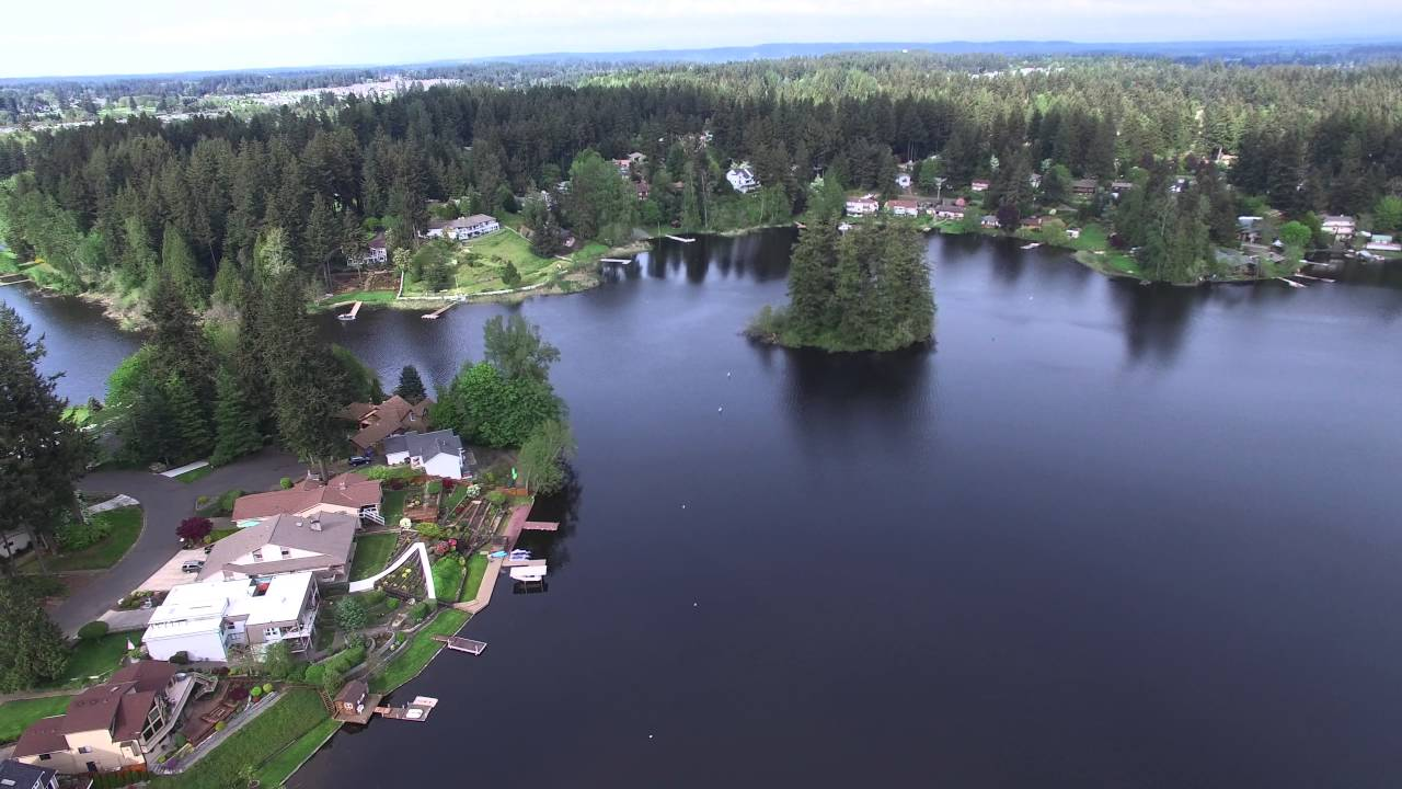 Dji Phantom 3 Drone >> Long Lake, Lacey, Washington April 2016 DJI Phantom Pro 3 ...