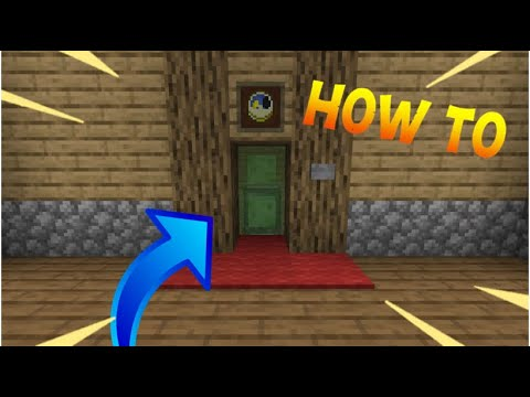 How To Make A WORKING Elevator In Minecraft! (SURVIVAL FRIENDLY) - How To #2