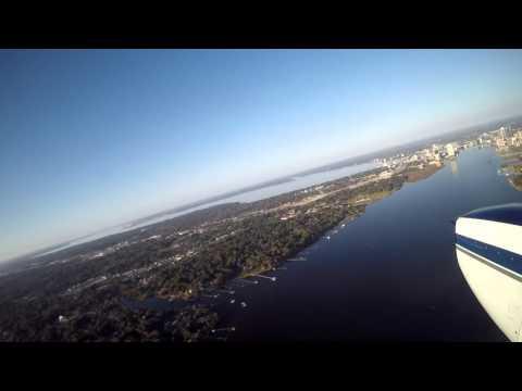 Aerial Tour Around Jacksonville, FL