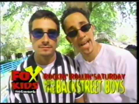 Backstreet Boys Fox Kids Saturday Bumpers